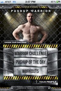 Pushup-Warrior
