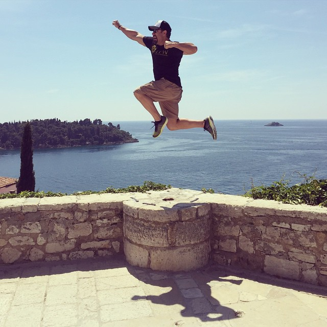 Martin Rooney Jumping Shot Croatia