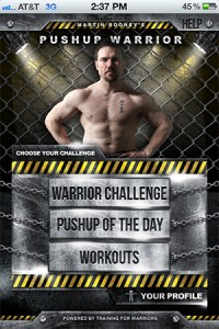 Pushup-Warrior